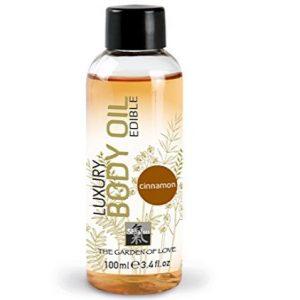 Aceite para masaje afrodisiaco de canela