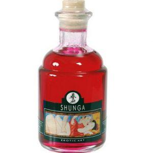Aceite para masaje afrodisiaco de frambuesa