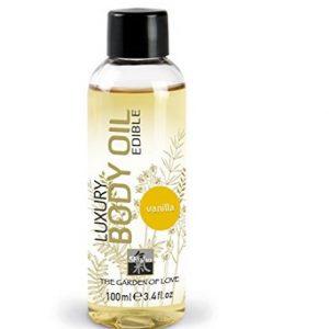 Aceite para masaje afrodisiaco de vainilla